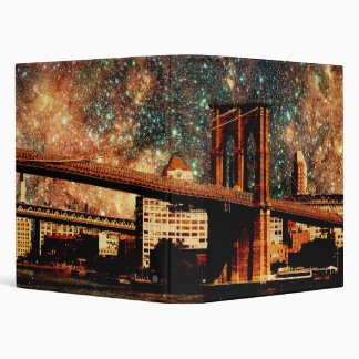 Starry Night Brooklyn Bridge Binder