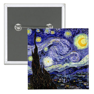 Starry Night Button