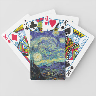 Starry Night by van Gogh Bicycle Playing Cards
