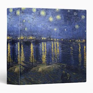 Starry Night by van Gogh Binder