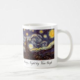 Starry Night by Van Gogh Classic White Coffee Mug