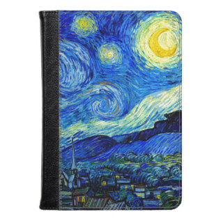 Starry Night By Van Gogh Fine Art Kindle Case at Zazzle