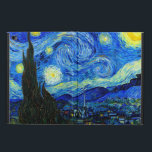 "Starry Night by Van Gogh Fine Art Powis iPad Air 2 Case<br><div class=""desc"">Vincent van Gogh - Starry Night painted at St Remy,  France in 1889.  Customizable fine art iPad Air cases in blue.</div>"
