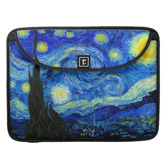 Starry Night by Van Gogh Fine Art Sleeve For MacBooks