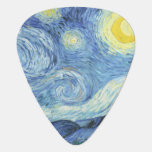 Starry Night By Van Gogh Guitar Pick at Zazzle