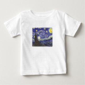 Starry Night by Van Gogh infant t-shirt