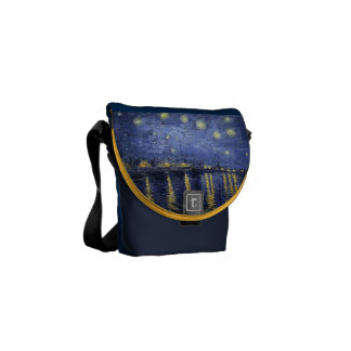 Starry Night by van Gogh Messenger Bag