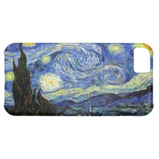 Starry Night By Vincent Van Gogh 1889 iPhone 5C Cover