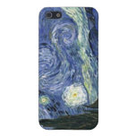 Starry Night by Vincent Van Gogh 4G iPhone Cases Cases For iPhone 5