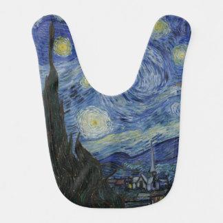 Starry Night by Vincent Van Gogh Baby Bib