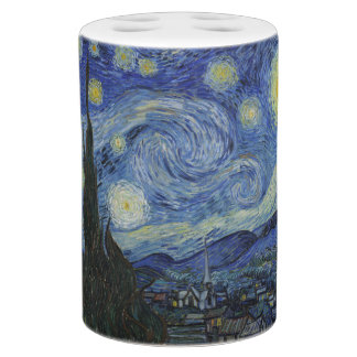 Exceptional Starry Night By Vincent Van Gogh Bathroom Set
