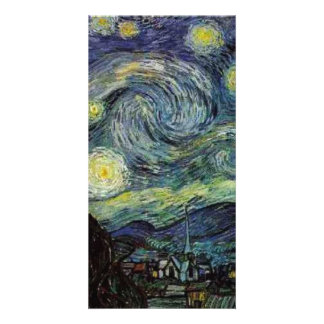 Starry Night by Vincent van Gogh. Card
