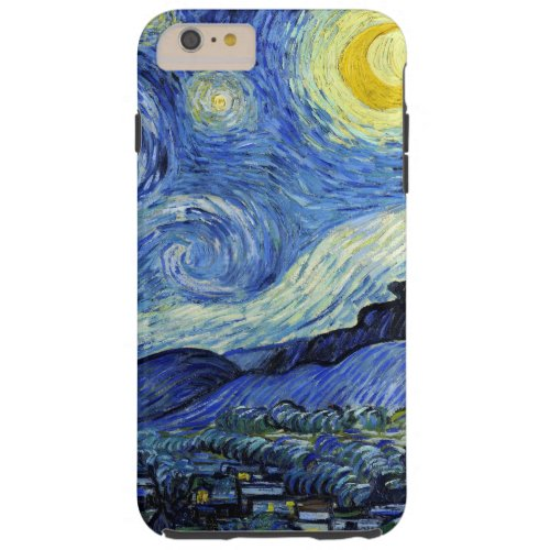 Starry Night by Vincent van Gogh Phone Case