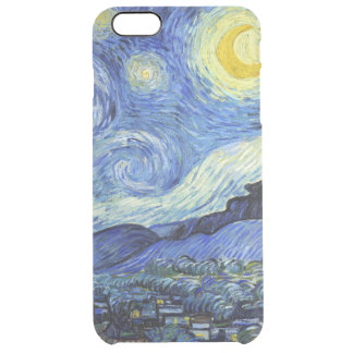 Starry Night by Vincent van Gogh Clear iPhone 6 Plus Case