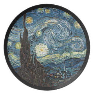 Starry Night by Vincent van Gogh Dinner Plate