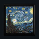 "Starry Night by Vincent Van Gogh Gift Box<br><div class=""desc"">Starry Night by Vincent Van Gogh.</div>"