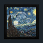 """Starry Night by Vincent Van Gogh Gift Box<br><div class=""""desc"""">Starry Night by Vincent Van Gogh.</div>"""