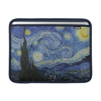 Starry Night by Vincent Van Gogh Sleeves For MacBook Air