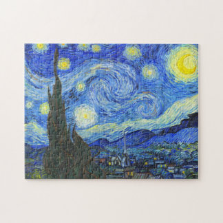 Starry Night by Vincent van Gogh Jigsaw Puzzle