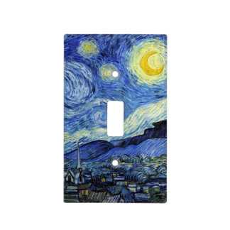 Starry Night by Vincent van Gogh Light Switch Cover