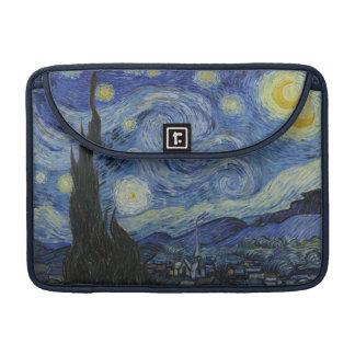 Starry Night by Vincent Van Gogh MacBook Pro Sleeve