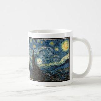 Starry Night by Vincent Van Gogh Classic White Coffee Mug