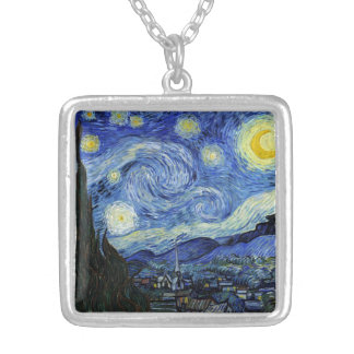 Starry Night by Vincent van Gogh Pendant