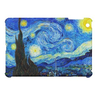 Starry Night by Vincent Van Gogh painting cool old iPad Mini Cover
