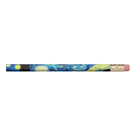 Starry Night by Vincent van Gogh Pencil
