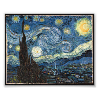 Starry Night by Vincent Van Gogh Photograph