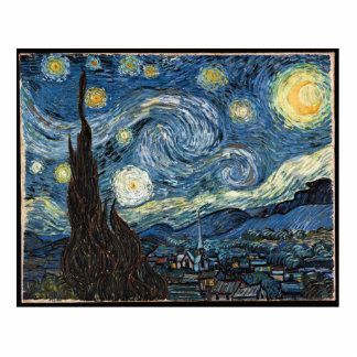 Starry Night by Vincent Van Gogh Cut Out