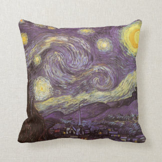 Starry Night by Vincent van Gogh Pillow
