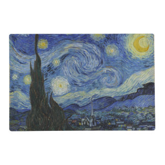 Starry Night by Vincent Van Gogh Placemat