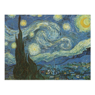 Starry Night by Vincent Van Gogh Postcards
