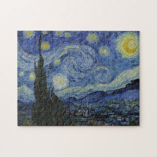 Starry Night by Vincent Van Gogh Puzzles