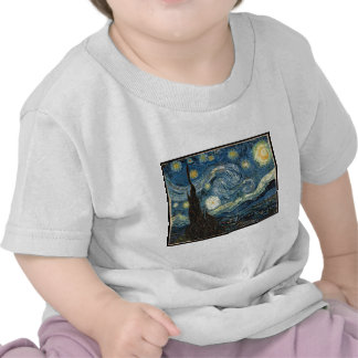Starry Night by Vincent Van Gogh T Shirts