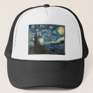 Starry Night by Vincent Van Gogh Trucker Hat
