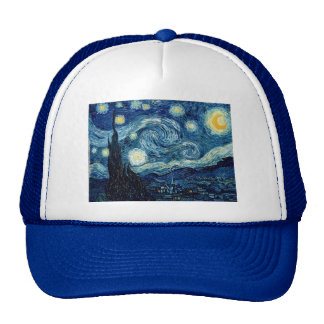 Starry Night By Vincent Van Gogh Trucker Hat