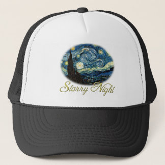 Starry Night by Vincent van Gogh. Trucker Hat