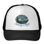 Starry Night by Vincent van Gogh. Trucker Hats