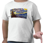 Starry Night by Vincent Willem van Gogh Tees