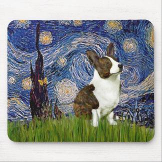 Starry Night - Cardigan Welsh Corgi Mouse Pad