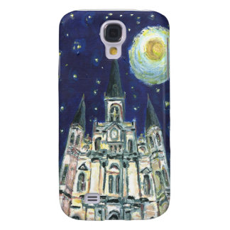 Starry Night Cathedral Galaxy S4 Cover