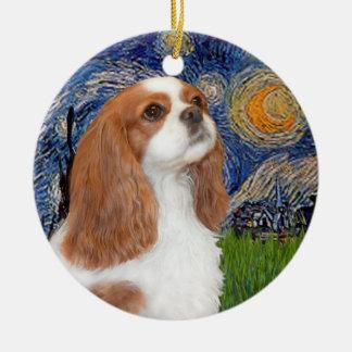 Starry Night - Cavalier (BL1) Ceramic Ornament