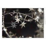 Starry Night Christmas Tree Greeting/Note Card