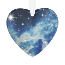 Starry Night Clouds Ornament