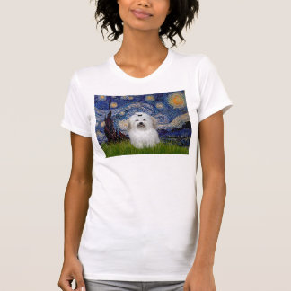 Starry Night - Coton de Tulear 2 Tshirts