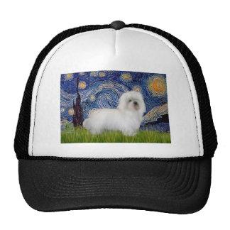 Starry Night - Coton de Tulear 5 Mesh Hats