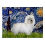 Starry Night - Coton de Tulear 5 Post Cards