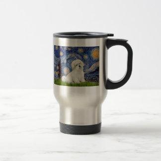 Starry Night - Coton de Tulear 7 Travel Mug